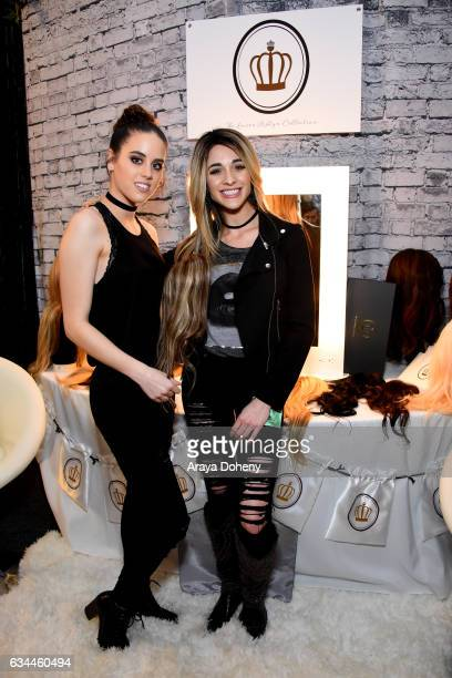 Recording artist Zealyn attends GRAMMY Gift Lounge during the 59th GRAMMY Awards at STAPLES Center on February 9 2017 in Los Angeles California