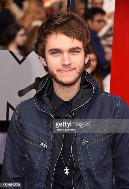 Recording artist Zedd attends the 2014 MTV Movie Awards at Nokia Theatre LA Live on April 13 2014 in Los Angeles California