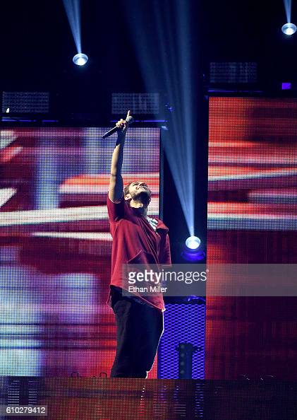 Recording artist Zedd performs onstage at the 2016 iHeartRadio Music Festival at TMobile Arena on September 24 2016 in Las Vegas Nevada