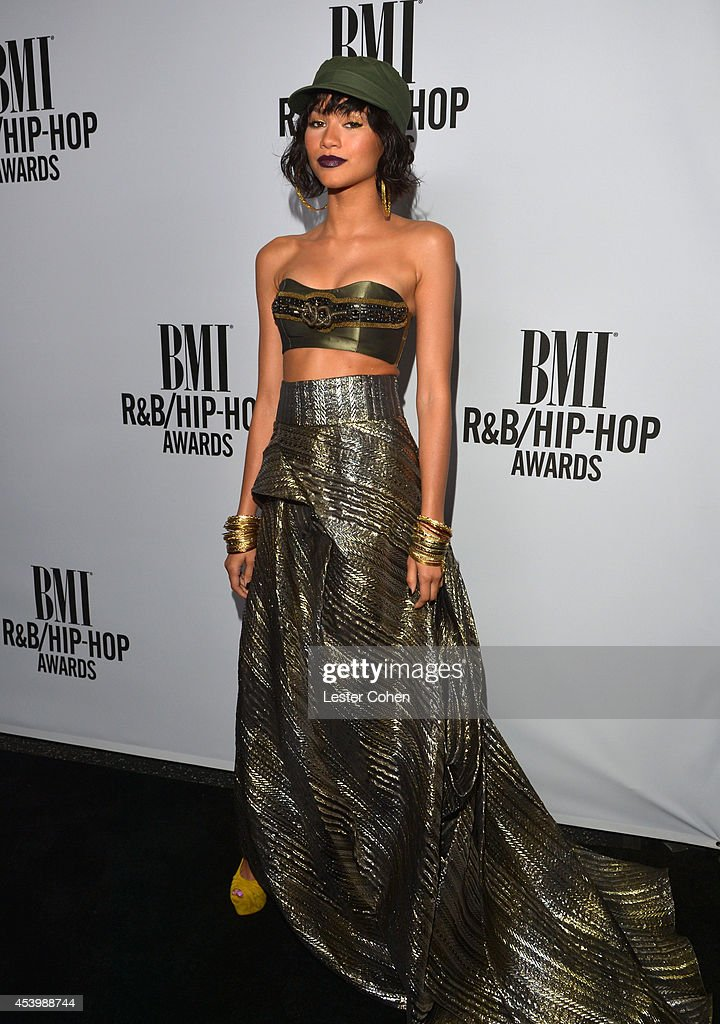 Recording artist Zendaya attends the 2014 BMI R&B/Hip-Hop Awards at the Pantages Theatre on August 22, 2014 in Hollywood, California.