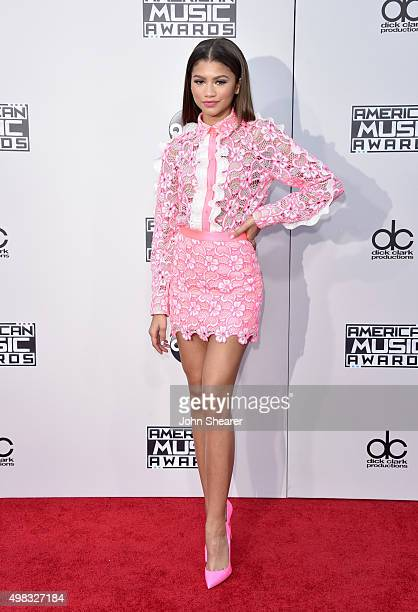 Recording artist Zendaya attends the 2015 American Music Awards at Microsoft Theater on November 22 2015 in Los Angeles California