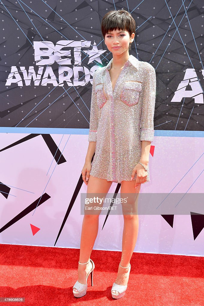 Recording artist Zendaya attends the 2015 BET Awards at the Microsoft Theater on June 28 2015 in Los Angeles California