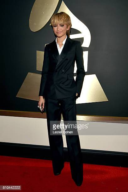 Recording artist Zendaya attends The 58th GRAMMY Awards at Staples Center on February 15 2016 in Los Angeles California