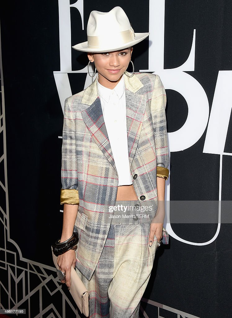 Recording artist Zendaya attends the 5th Annual ELLE Women in Music Celebration presented by CUSP by Neiman Marcus. Hosted by ELLE Editor-in-Chief Robbie Myers with performances by Sarah McLachlan, Angel Haze and Betty Who, with special DJ set by Rumer Willis at Avalon on April 22, 2014 in Hollywood, California.