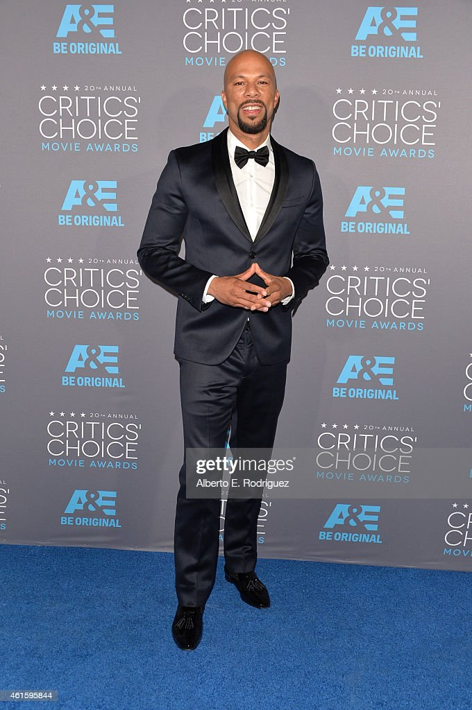 Recording artist/actor Common attends the 20th annual Critics' Choice Movie Awards at the Hollywood Palladium on January 15, 2015 in Los Angeles, California.