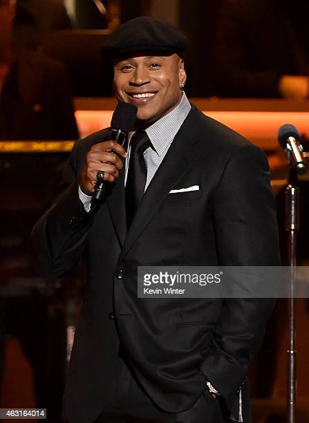Recording artist/actor LL Cool J speaks onstage during Stevie Wonder Songs In The Key Of Life An AllStar GRAMMY Salute at Nokia Theatre LA Live on...