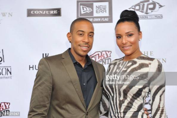 Recording Artist/Actor Ludacris and Eudoxie attends the Luda Day 2012 Launch Dinner at Frank Ski Lounge on August 30 2012 in Atlanta Georgia
