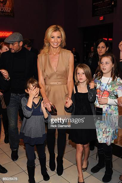 COVERAGE*** Recording Artist/Actor Tim McGraw Singer/Songwriter Faith Hill and Family attend 'The Blind Side' premiere hosted by Tim McGraw at the...