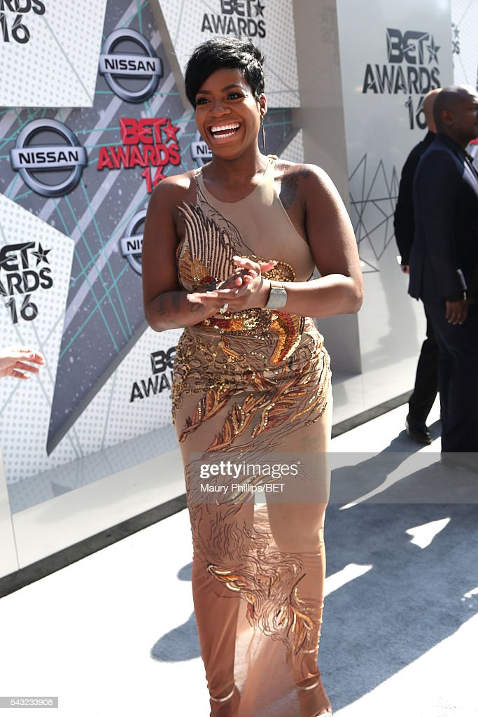 Recording artist/actress <a gi-track='captionPersonalityLinkClicked' href=/galleries/search?phrase=Fantasia+Barrino&family=editorial&specificpeople=171386 ng-click='$event.stopPropagation()'>Fantasia Barrino</a> attends the Nissan red carpet during the 2016 BET Awards at the Microsoft Theater on June 26, 2016 in Los Angeles, California.