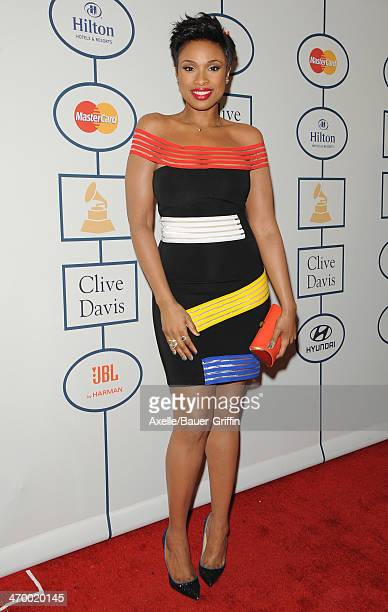Recording artist/actress Jennifer Hudson attends the Clive Davis And The Recording Academy's 2014 PreGRAMMY Gala at The Beverly Hilton on January 25...