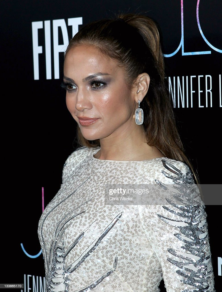 Recording Artist/Actress Jennifer Lopez attends the Fiat Presents Jennifer Lopez's Official American Music Awards After Party at Greystone Manor...