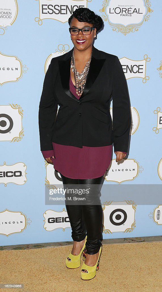 Recording artist/actress Jill Scott attends the Sixth Annual ESSENCE Black Women In Hollywood Awards Luncheon at the Beverly Hills Hotel on February 21, 2013 in Beverly Hills, California.