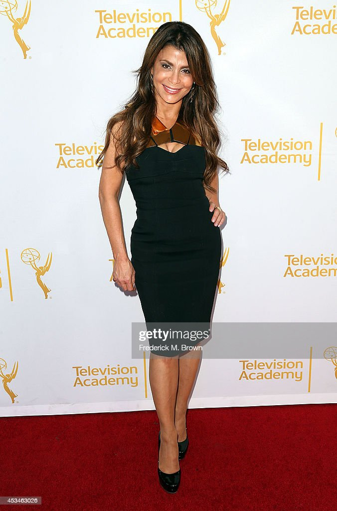 Recording artist/choreographer Paula Abdul attends the Television Academy's Directors Peer Group Celebrates the 66th Emmy Awards Outstanding...