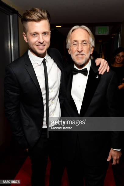 Recording artistmusic producer Ryan Tedder and President/CEO of The Recording Academy and GRAMMY Foundation President/CEO Neil Portnow attend the The...