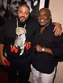 Recording artist/producer DJ Khaled and Chairman and CEO of Epic Records LA Reid attend EpicFest 2016 hosted by LA Reid and Epic Records at Sony...