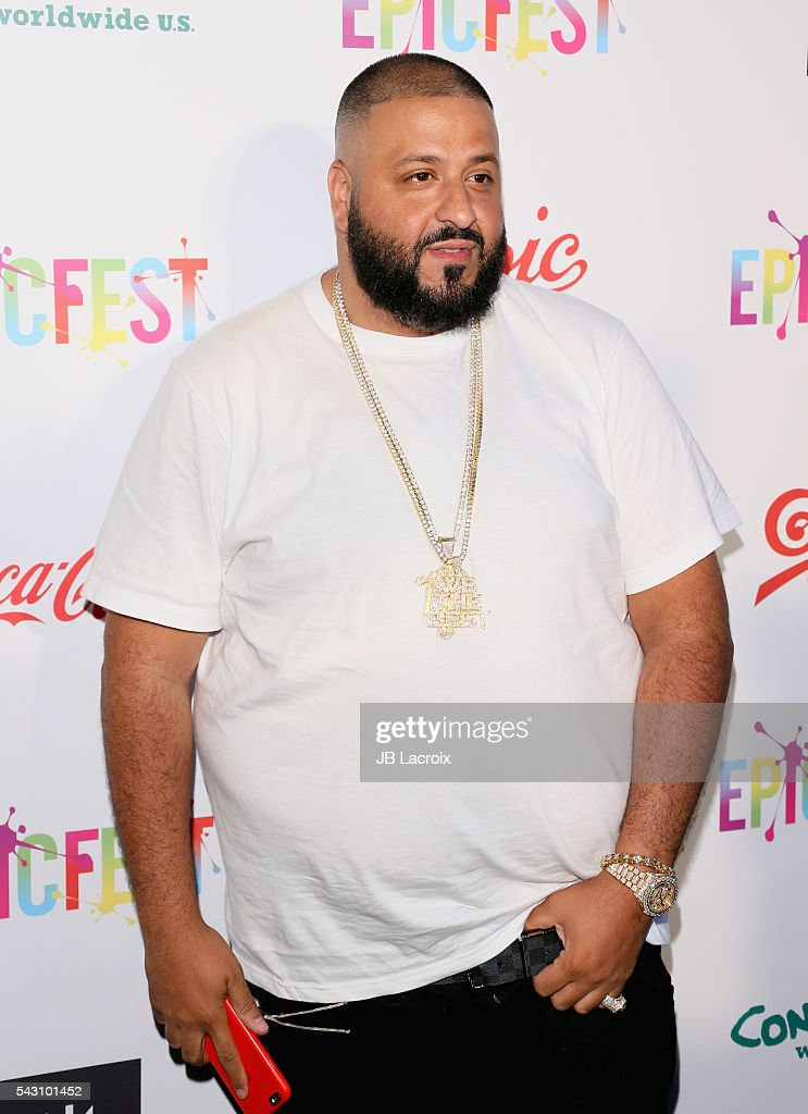 Recording artist/producer <a gi-track='captionPersonalityLinkClicked' href=/galleries/search?phrase=DJ+Khaled&family=editorial&specificpeople=577862 ng-click='$event.stopPropagation()'>DJ Khaled</a> attends EpicFest 2016 hosted by L.A. Reid and Epic Records at Sony Studios on June 25, 2016 in Los Angeles, California.