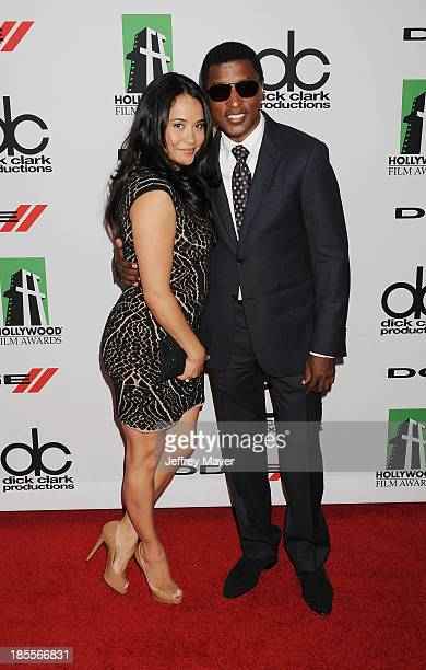 Recording artist/producer Kenneth 'Babyface' Edmonds and Nicole Pantenburg arrive at the 17th Annual Hollywood Film Awards at The Beverly Hilton...