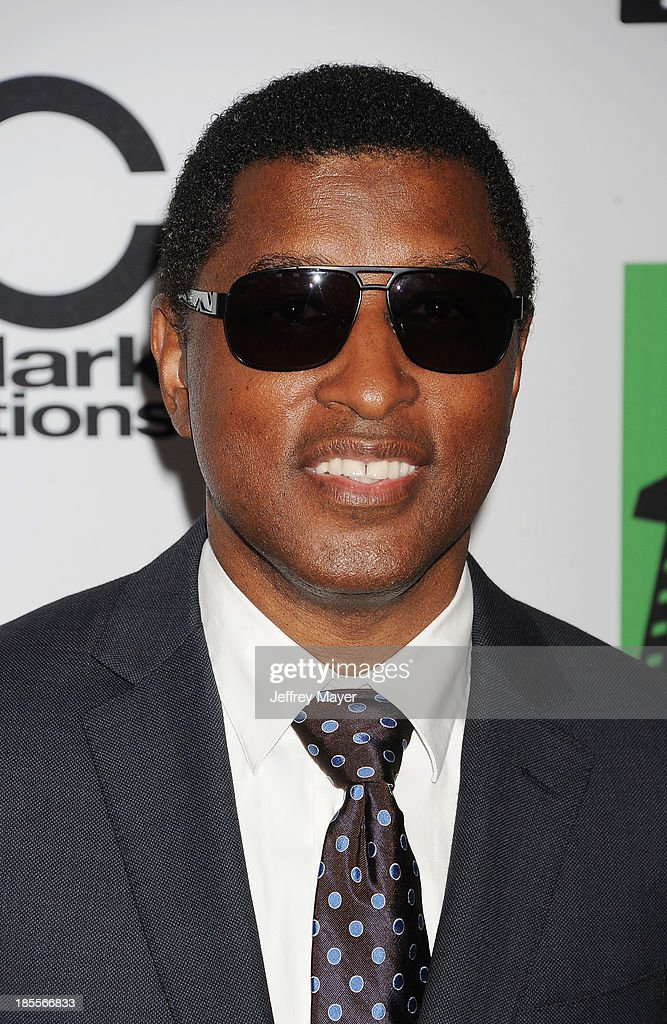 Recording artist/producer Kenneth 'Babyface' Edmonds arrives at the 17th Annual Hollywood Film Awards at The Beverly Hilton Hotel on October 21, 2013 in Beverly Hills, California.