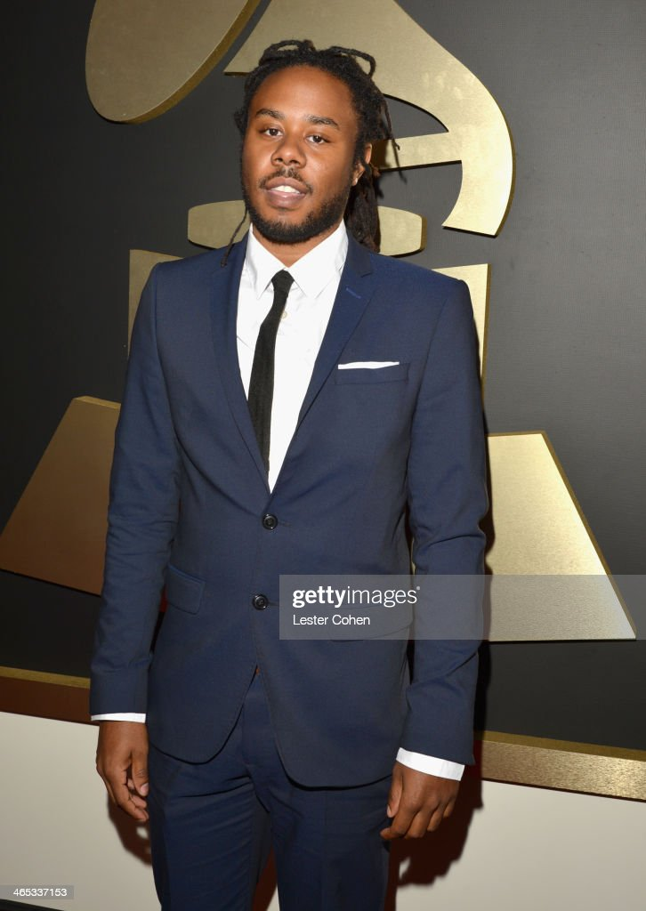 Recording artist/producer Like attends the 56th GRAMMY Awards at Staples Center on January 26, 2014 in Los Angeles, California.