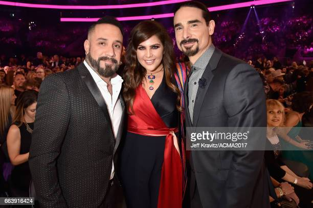 Recording artists AJ McLean of musical group The Backstreet Boys Hillary Scott of musical group Lady Antebellum and Kevin Richardson of musical group...