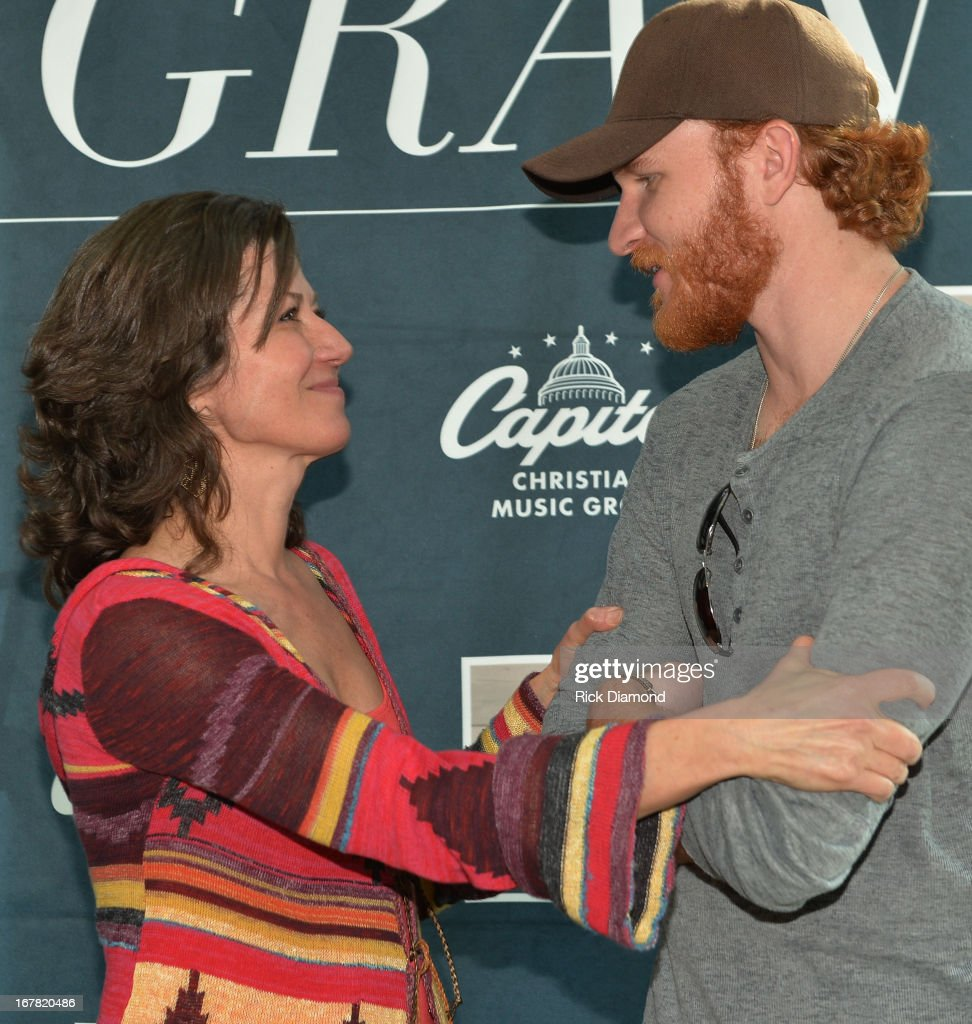 Recording Artists Amy Grant and Eric Paslay attend the Amy Grant Album Launch Party at ASCAP on April 30 2013 Tennessee