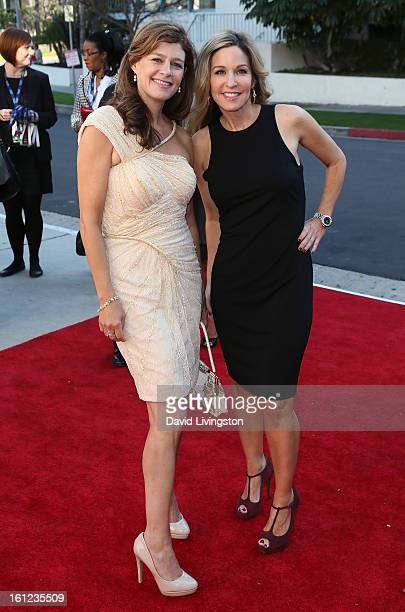 Recording artists and Carole King daughters Louise Goffin and Sherry Kondor attend The Recording Academy Special Merit Awards Ceremony at the...