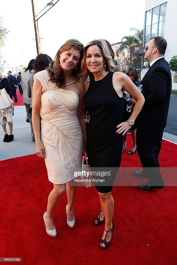 Recording artists and Carole King daughters Louise Goffin (L) and Sherry Kondor at The 55th Annual GRAMMY Awards - Special Merit Awards Ceremony And Nominee Reception held on on February 9, 2013 in Los Angeles, California.