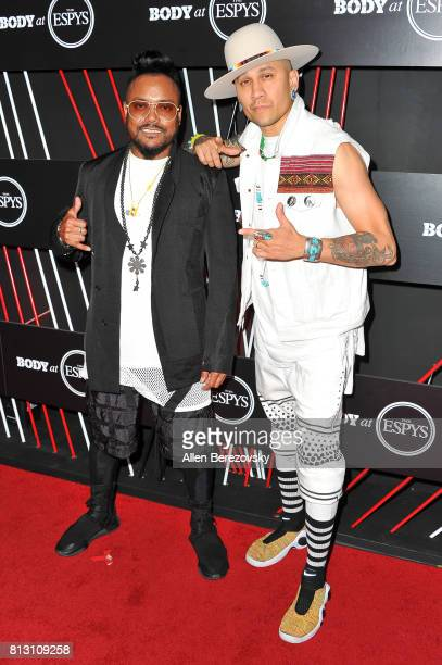 Recording artists apldeap and Taboo of Black Eyed Peas attend BODY At The ESPYS PreParty at Avalon Hollywood on July 11 2017 in Los Angeles California