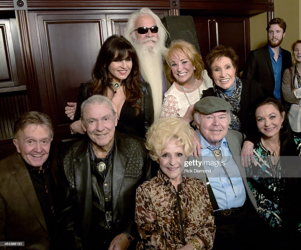 Recording Artists <a gi-track='captionPersonalityLinkClicked' href=/galleries/search?phrase=Bill+Anderson+-+Country+Singer&family=editorial&specificpeople=4291646 ng-click='$event.stopPropagation()'>Bill Anderson</a>, <a gi-track='captionPersonalityLinkClicked' href=/galleries/search?phrase=Jim+Ed+Brown+-+Country+Music+Singer&family=editorial&specificpeople=7080855 ng-click='$event.stopPropagation()'>Jim Ed Brown</a>, <a gi-track='captionPersonalityLinkClicked' href=/galleries/search?phrase=Brenda+Lee&family=editorial&specificpeople=584199 ng-click='$event.stopPropagation()'>Brenda Lee</a>, <a gi-track='captionPersonalityLinkClicked' href=/galleries/search?phrase=Roy+Clark&family=editorial&specificpeople=1066886 ng-click='$event.stopPropagation()'>Roy Clark</a>, <a gi-track='captionPersonalityLinkClicked' href=/galleries/search?phrase=Crystal+Gayle&family=editorial&specificpeople=1537366 ng-click='$event.stopPropagation()'>Crystal Gayle</a>. Back: Deborah Allen, <a gi-track='captionPersonalityLinkClicked' href=/galleries/search?phrase=William+Lee+Golden&family=editorial&specificpeople=1184482 ng-click='$event.stopPropagation()'>William Lee Golden</a>, Tayna Tucker and Jan Howard attend Webster Public Relations - Unofficial Kick-Off CRS Event - Legendary Lunch at The Palm Restaurant on February 25, 2015 in Nashville, Tennessee.