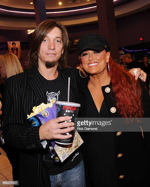 COVERAGE*** Recording Artists Brad Warren and Singer/Songwriter Wynonna Judd attend 'The Blind Side' premiere hosted by Tim McGraw at the Regal Green...