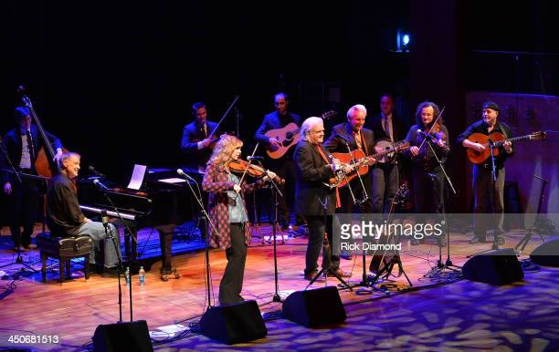 Recording Artists Bruce Hornsby Alison Krauss Ricky Skaggs Del McCoury Martain Hayes and Dennis Cahill along with Ricky's band Kentucky Thunder...