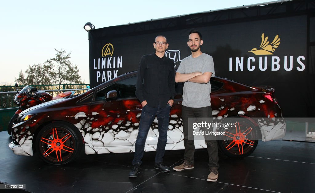 linkin park unveils the honda si coupe and cbr250r motorcycle