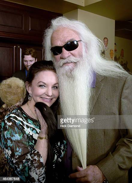 Recording Artists Crystal Gayle and William Lee Golder attend Webster Public Relations Unofficial KickOff CRS Event Legendary Lunch at The Palm...