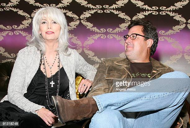 Recording artists Emmylou Harris and Vince Gill attend the Country Music Hall of Fame and Museum's annual 'All for the Hall Los Angeles' Benefit at...