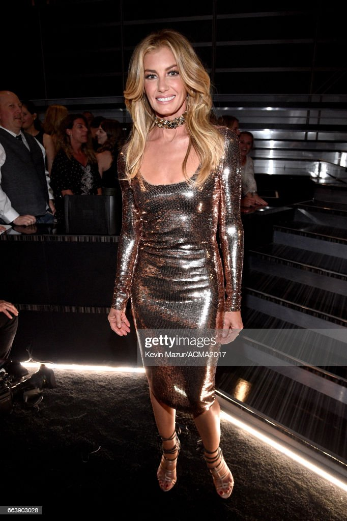 Recording artists Faith Hill attends the 52nd Academy Of Country Music Awards at T-Mobile Arena on April 2, 2017 in Las Vegas, Nevada.