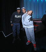 Recording artists Jadakiss and Styles P attend 106 Park at BET studio on December 8 2014 in New York City