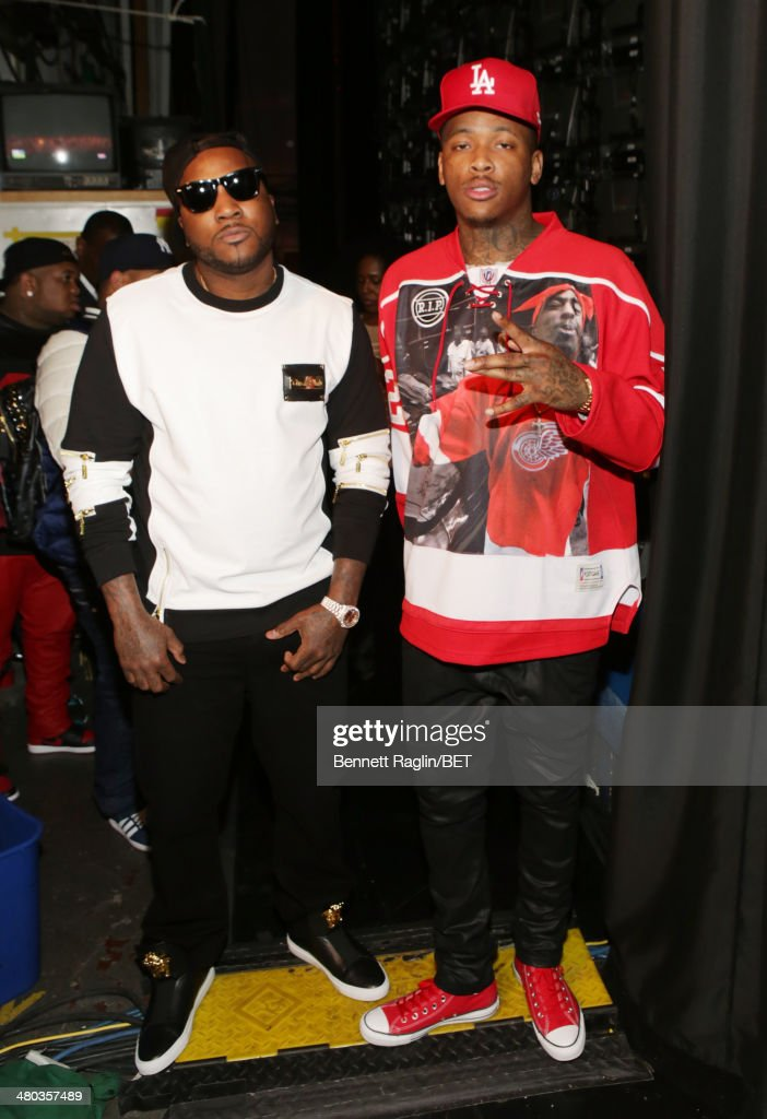 Recording artists Jeezy and YG visits 106 Park at BET studio on March 24 2014 in New York City