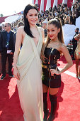 Recording artists Jessie J and Ariana Grande attend the 2014 MTV Video Music Awards at The Forum on August 24 2014 in Inglewood California