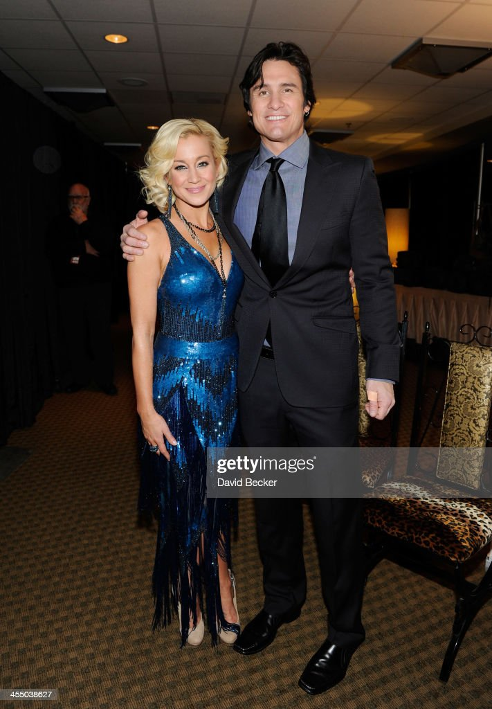 Recording artists <a gi-track='captionPersonalityLinkClicked' href=/galleries/search?phrase=Kellie+Pickler&family=editorial&specificpeople=600021 ng-click='$event.stopPropagation()'>Kellie Pickler</a> (L) and <a gi-track='captionPersonalityLinkClicked' href=/galleries/search?phrase=Joe+Nichols&family=editorial&specificpeople=238856 ng-click='$event.stopPropagation()'>Joe Nichols</a> attend the Backstage Creations Celebrity Retreat at the American Country Awards 2013 at the Mandalay Bay Events Center on December 10, 2013 in Las Vegas, Nevada.