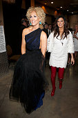 Recording artists Kimberly Schlapman and Karen Fairchild of Little Big Town attend the 51st Academy of Country Music Awards at MGM Grand Garden Arena...