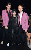 Recording artists Mark Ronson in Saint Laurent by Hedi Slimane Joan Jett and Beck attend Saint Laurent at the Palladium on February 10 2016 in Los...