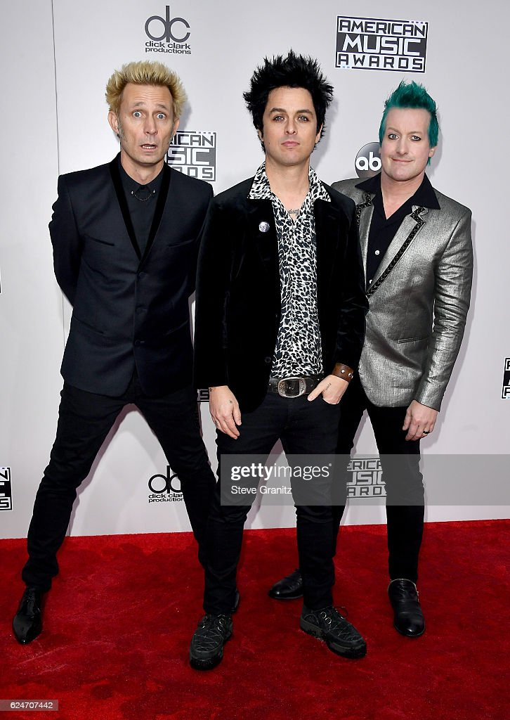 recording-artists-mike-dirnt-and-tre-cool-attend-the-2016-american-picture-id624707442