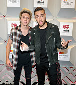 Recording artists Niall Horan and Liam Payne of the music group One Direction attend the 2014 iHeartRadio Music Festival at the MGM Grand Garden...