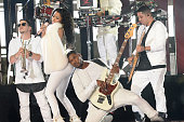 Recording artists Nicki Minaj and Usher perform onstage during the 2014 MTV Video Music Awards at The Forum on August 24 2014 in Inglewood California
