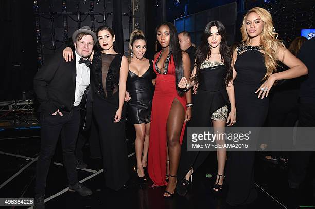 Recording artists Patrick Stump of Fall Out Boy Lauren Jauregui Ally Brooke Normani Hamilton Camila Cabello and DinahJane Hansen of Fifth Harmony...