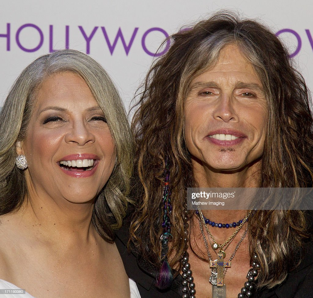 Recording artists Patti Austin and Steven Tyler attend Hollywood Bowl Opening Night Gala - Inside at The Hollywood Bowl on June 22, 2013 in Los Angeles, California.