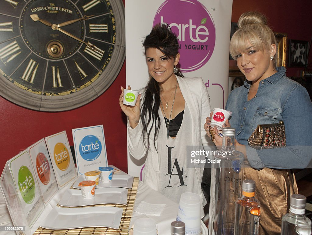 Recording Artists Sabrina and Joelle James attend Interscope Records AMA After Party Hosted By NIVEA Lip Butters & Ciroc Ultra Premium Vodka Portraits Inside on November 18, 2012 in Los Angeles, California.