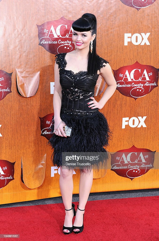 Recording artists Susie Brown of The JaneDear Girls arrives at 2011 American Country Awards at MGM Grand Garden Arena on December 5, 2011 in Las Vegas, Nevada.