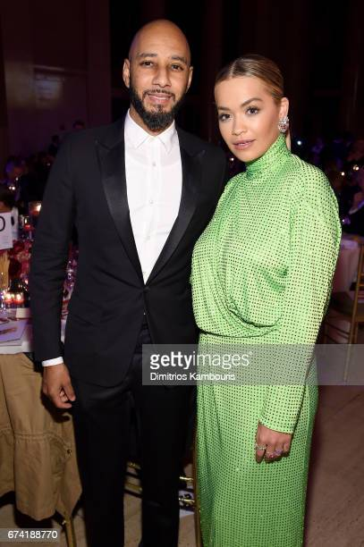 Recording artists Swizz Beatz and Rita Ora attend 11th Annual DKMS 'BIG LOVE' Gala on April 27 2017 in New York City