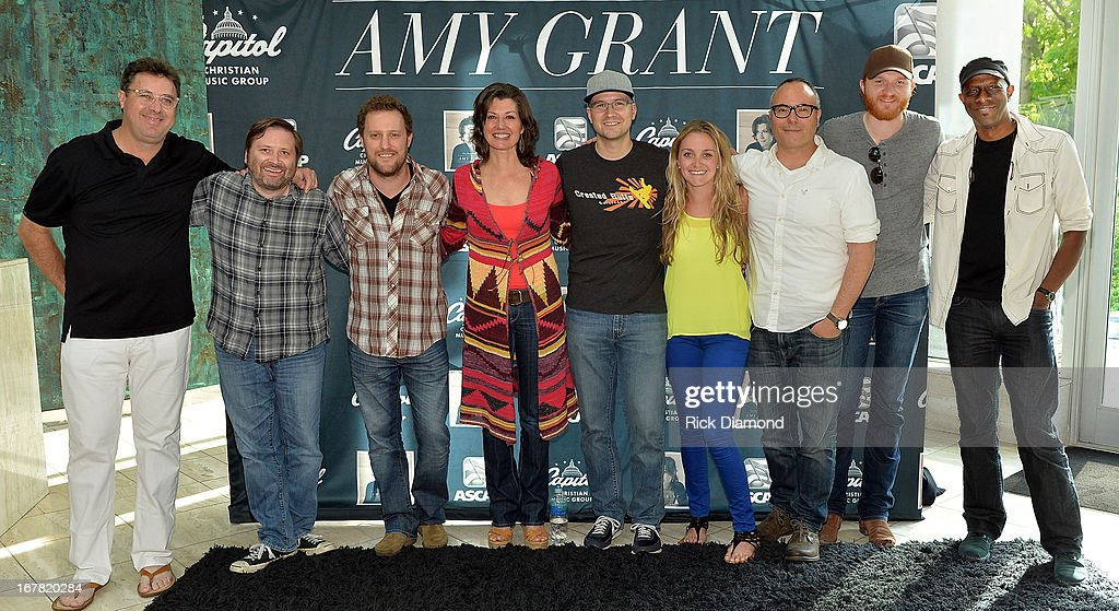 Recording Artists that contributed to Amy Grants first new album in 10 years 'HOW MERCY LOOKS FROM HERE' Vince Gill Jeremy Bose Ben Glover Amy Grant...